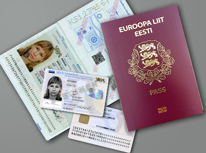 passport and id card